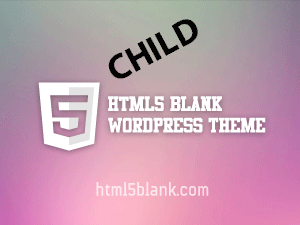 html5blank stable child